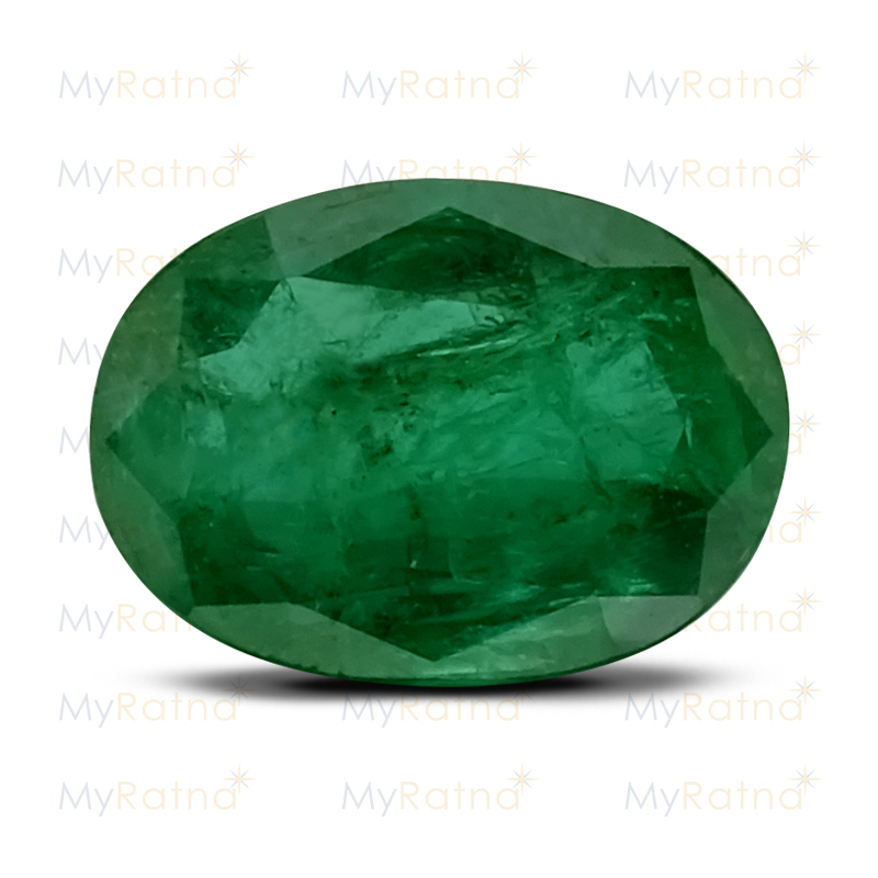 Certified Natural Emerald 3.6 Ct (Zambia) - Prime - MyRatna