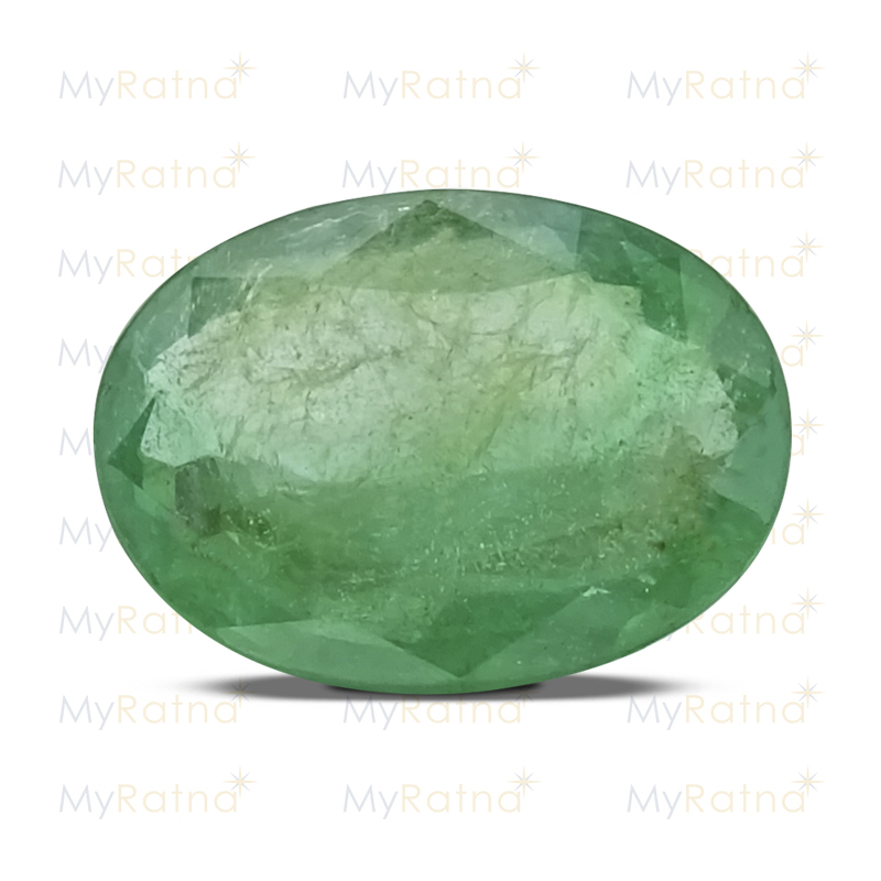 Certified Natural Emerald 3.12 Ct (Zambia) - Prime - MyRatna