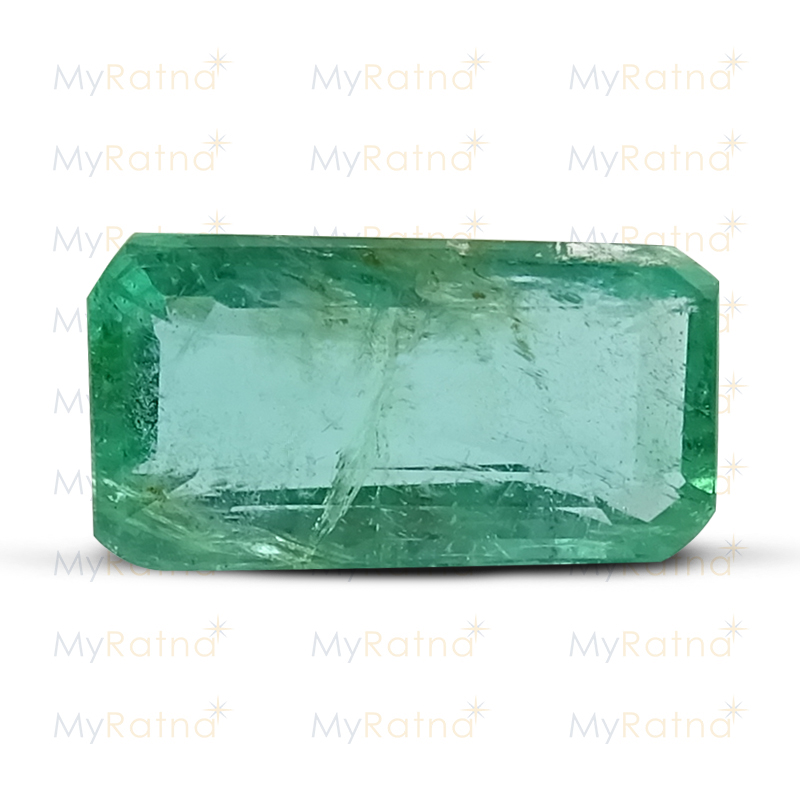 Certified Natural Emerald 3.02 Ct (Zambia) - Prime - MyRatna