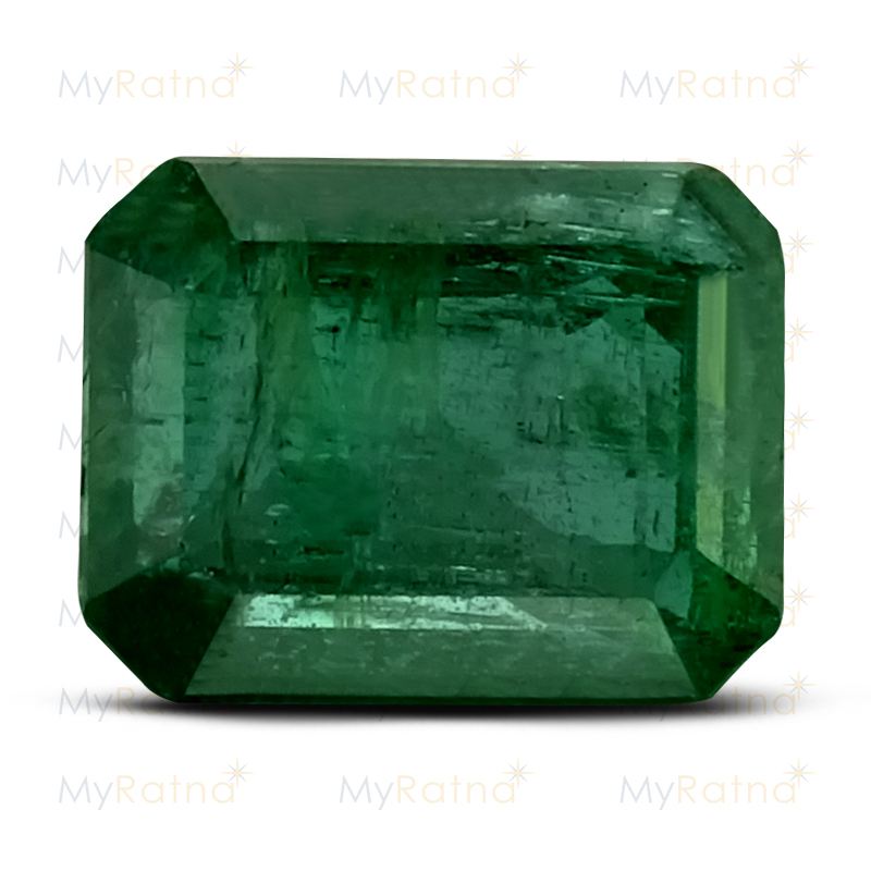 Certified Natural Emerald 3.15 Ct (Zambia) - Prime - MyRatna