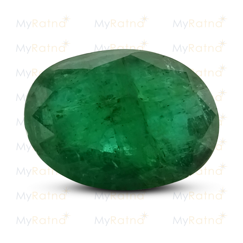 Certified Natural Emerald 4.23 Ct (Zambia) - Fine - MyRatna