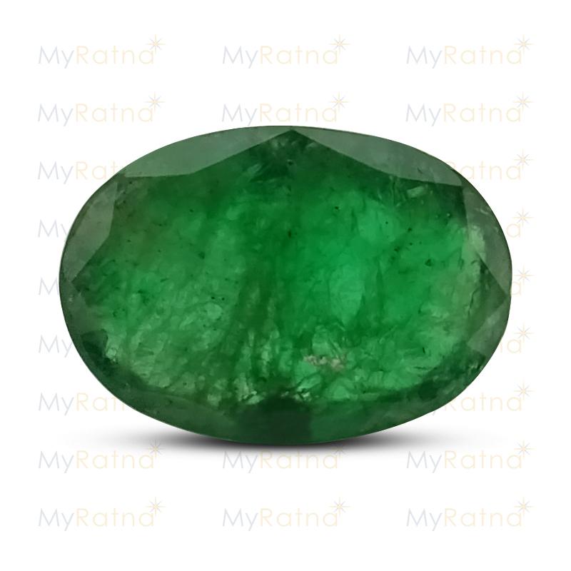 Certified Natural Emerald 3.83 Ct (Zambia) - Fine - MyRatna