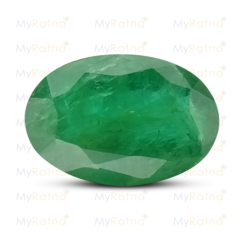 Certified Natural Emerald 3.4 Ct (Zambia) - Fine - MyRatna