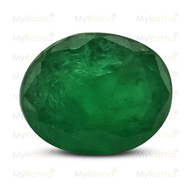 Certified Natural Emerald 4.05 Ct (Zambia) - Fine - MyRatna