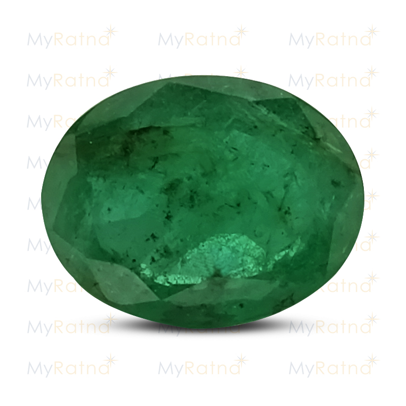 Certified Natural Emerald 3.51 Ct (Zambia) - Fine - MyRatna