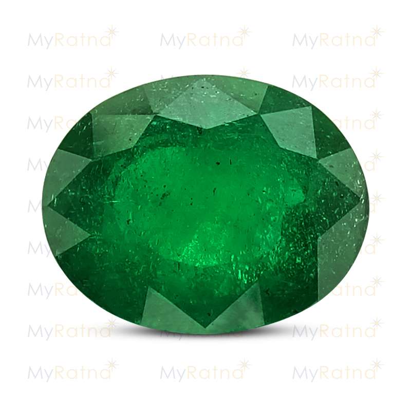 Certified Natural Emerald 5.87 Ct (Zambia) - Prime - MyRatna