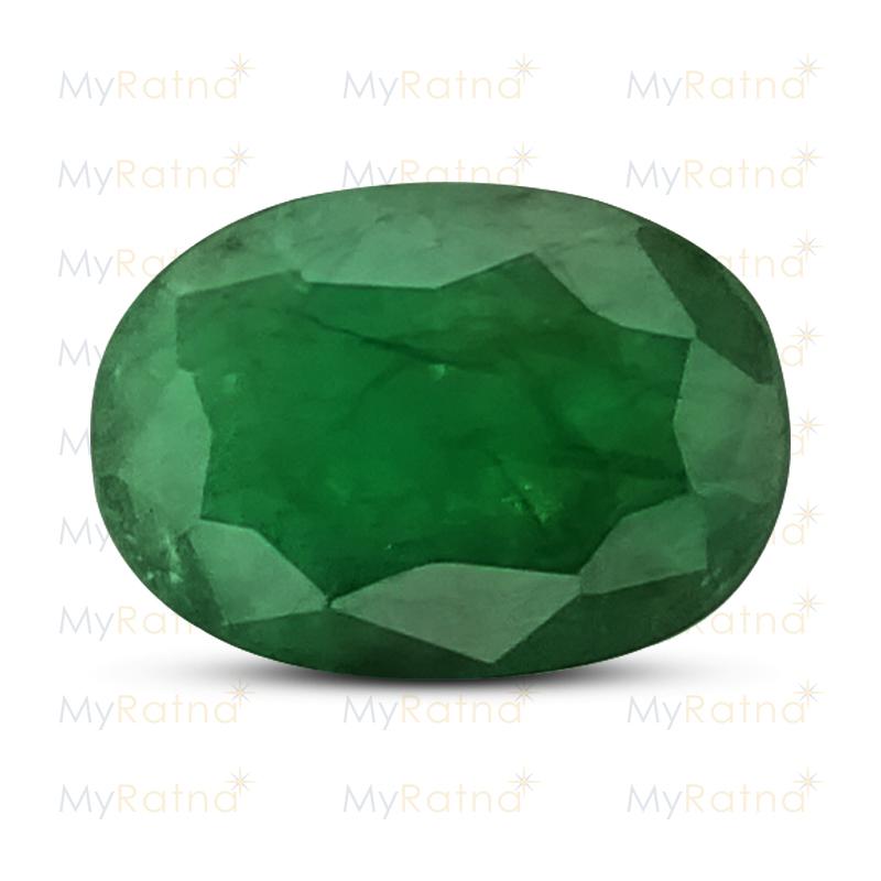 Certified Natural Emerald 4.65 Ct (Zambia) - Fine - MyRatna