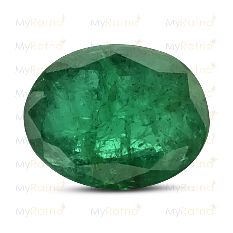 Certified Natural Emerald 5.35 Ct (Zambia) - Fine - MyRatna