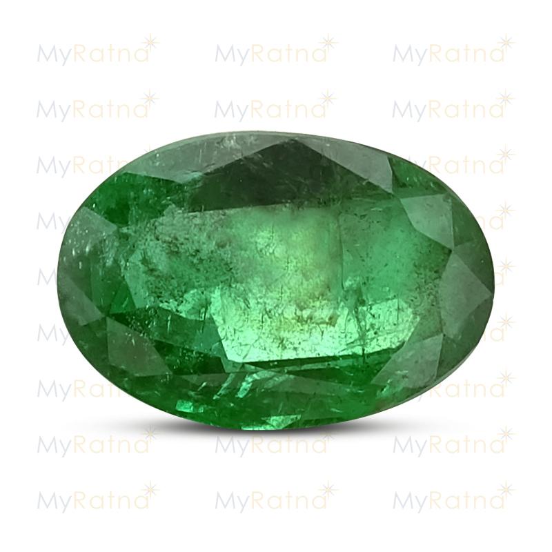 Certified Natural Emerald 4.19 Ct (Zambia) - Prime - MyRatna