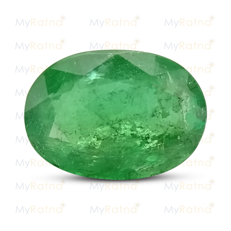 Certified Natural Emerald 3.63 Ct (Zambia) - Prime - MyRatna
