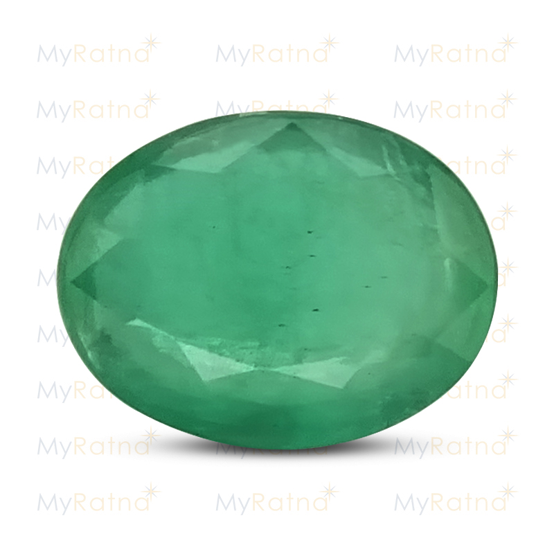 Certified Natural Emerald 3.47 Ct (Zambia) - Prime - MyRatna