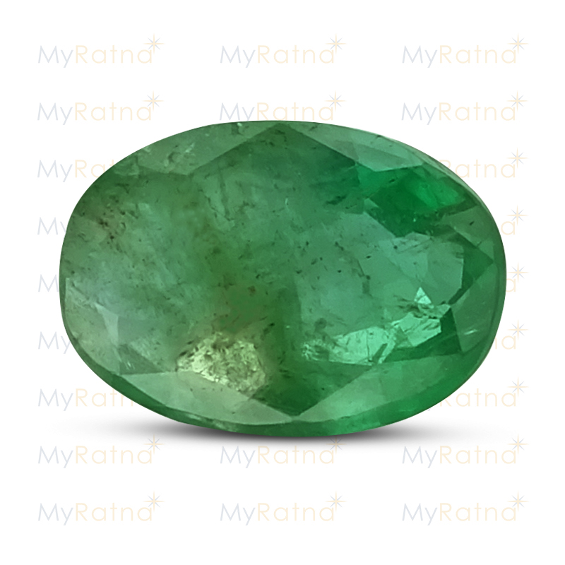 Certified Natural Emerald 3.55 Ct (Zambia) - Fine - MyRatna
