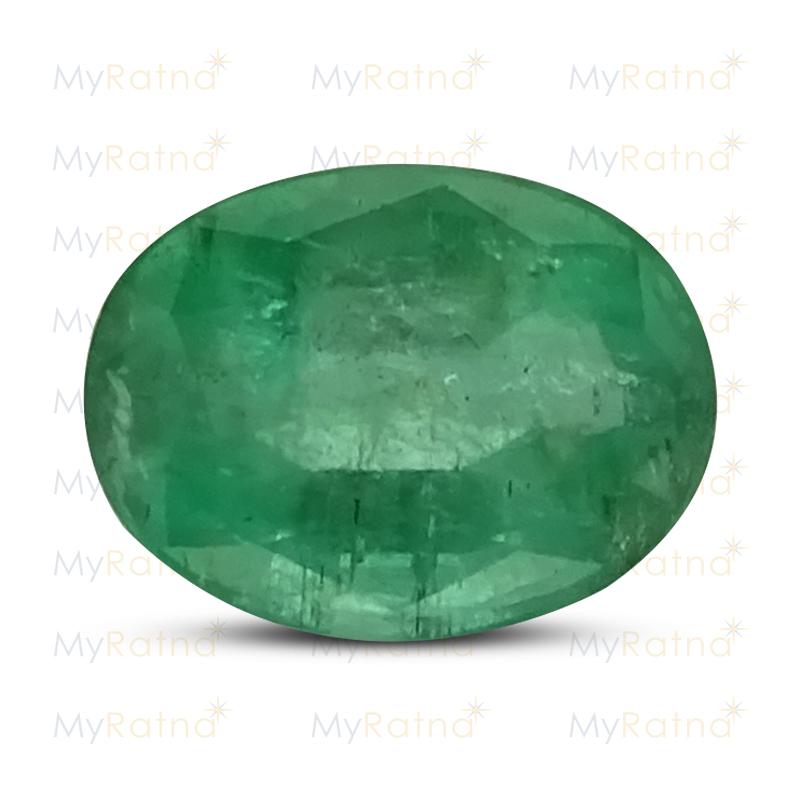 Certified Natural Emerald 3.19 Ct (Zambia) - Prime - MyRatna