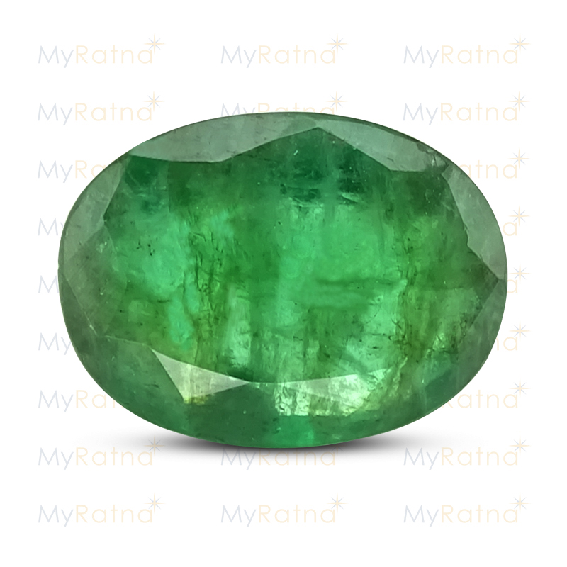 Certified Natural Emerald 3.12 Ct (Zambia) - Fine - MyRatna
