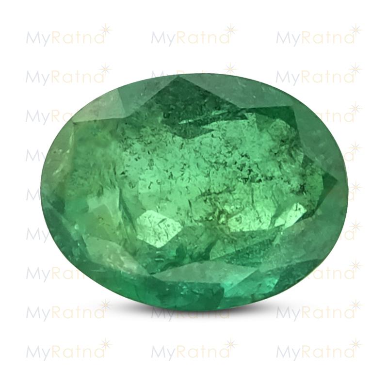 Certified Natural Emerald 2.62 Ct (Zambia) - Prime - MyRatna