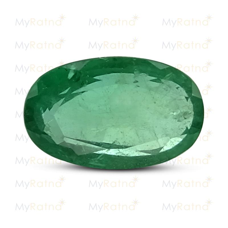 Certified Natural Emerald 2.66 Ct (Zambia) - Prime - MyRatna
