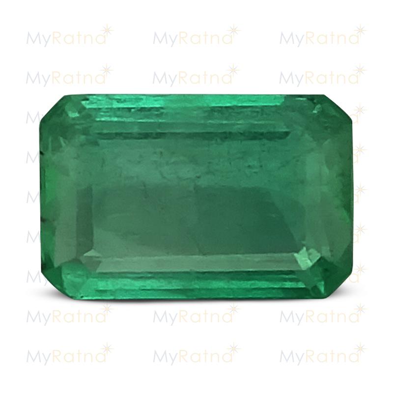 Certified Natural Emerald 3.26 Ct (Zambia) - Limited - MyRatna