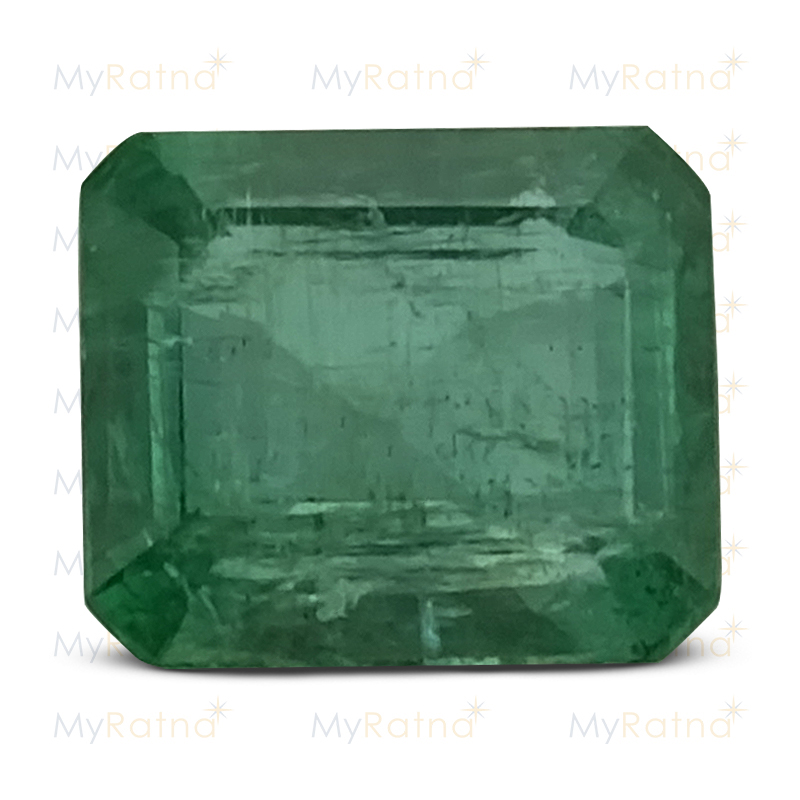 Certified Natural Emerald 3.37 Ct (Zambia) - Prime - MyRatna