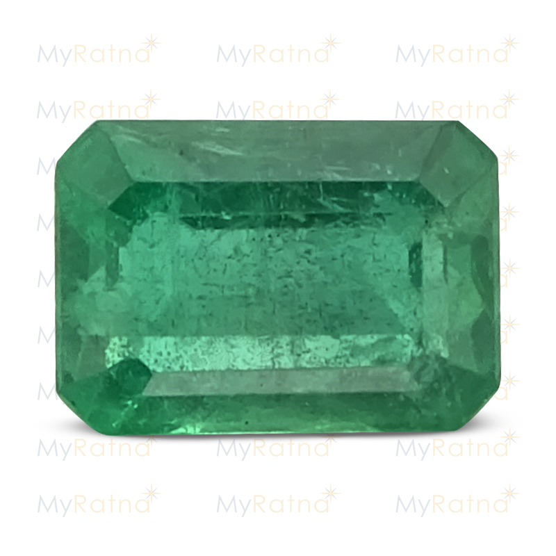Certified Natural Emerald 3.11 Ct (Zambia) - Prime - MyRatna