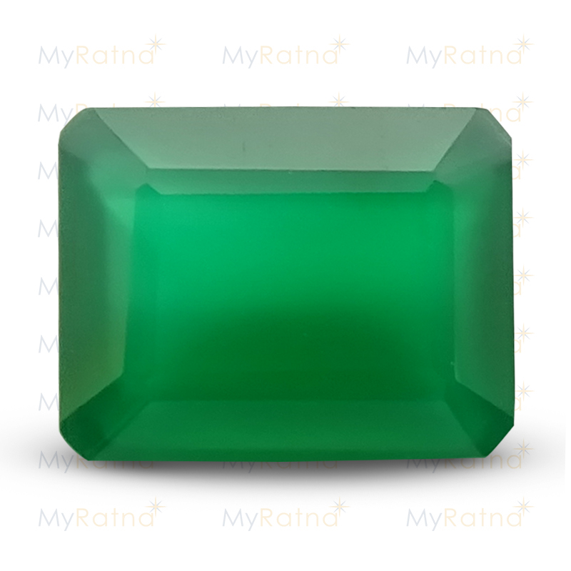 Certified Natural Green Onyx 4.22 Ct - Prime - MyRatna