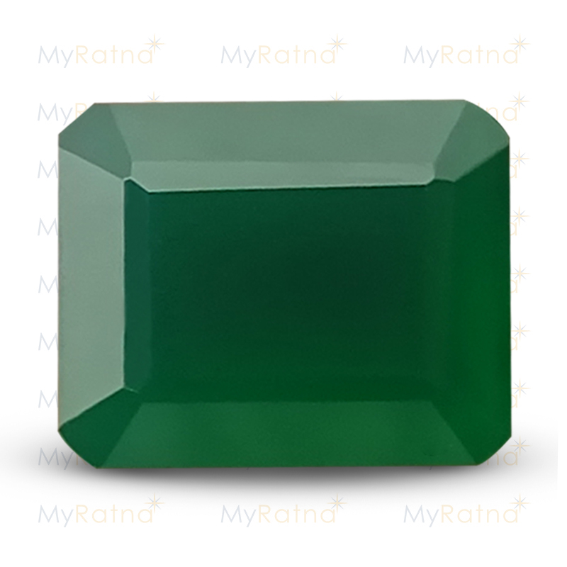 Certified Natural Green Onyx 5.15 Ct - Prime - MyRatna