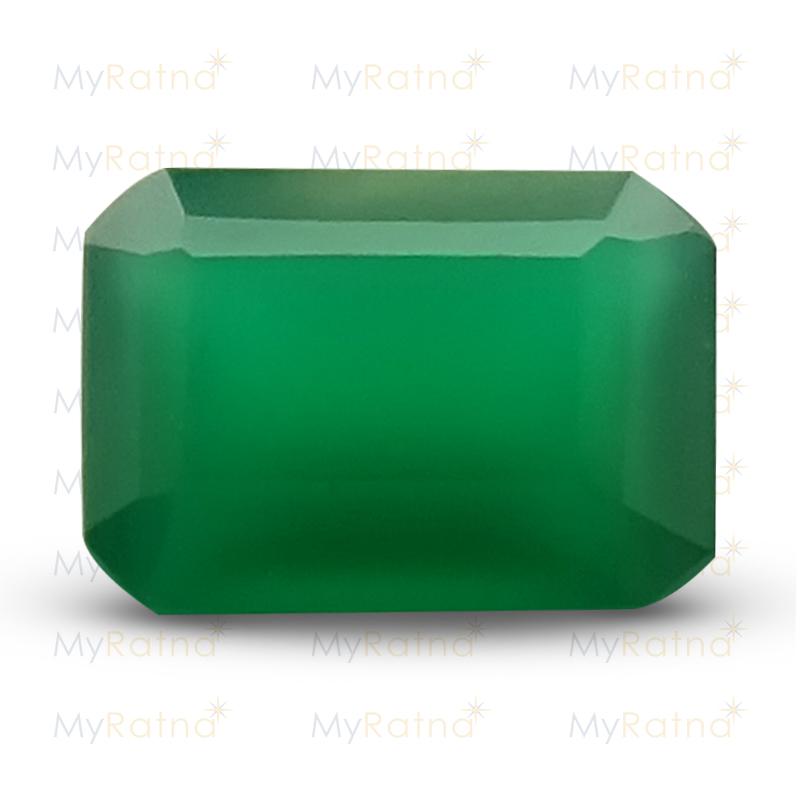 Certified Natural Green Onyx 1.04 Ct - Prime - MyRatna