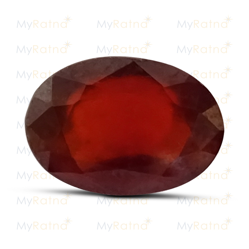 Certified Natural Hessonite Garnet 8.53 Ct (Africa) - Prime - MyRatna