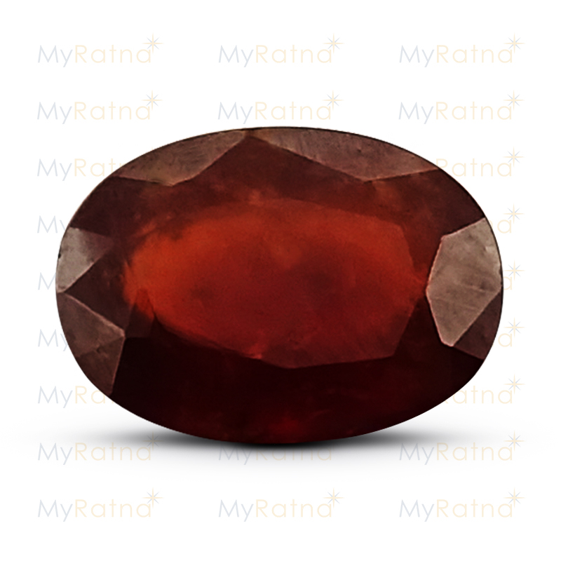 Certified Natural Hessonite Garnet 6.23 Ct (Africa) - Prime - MyRatna