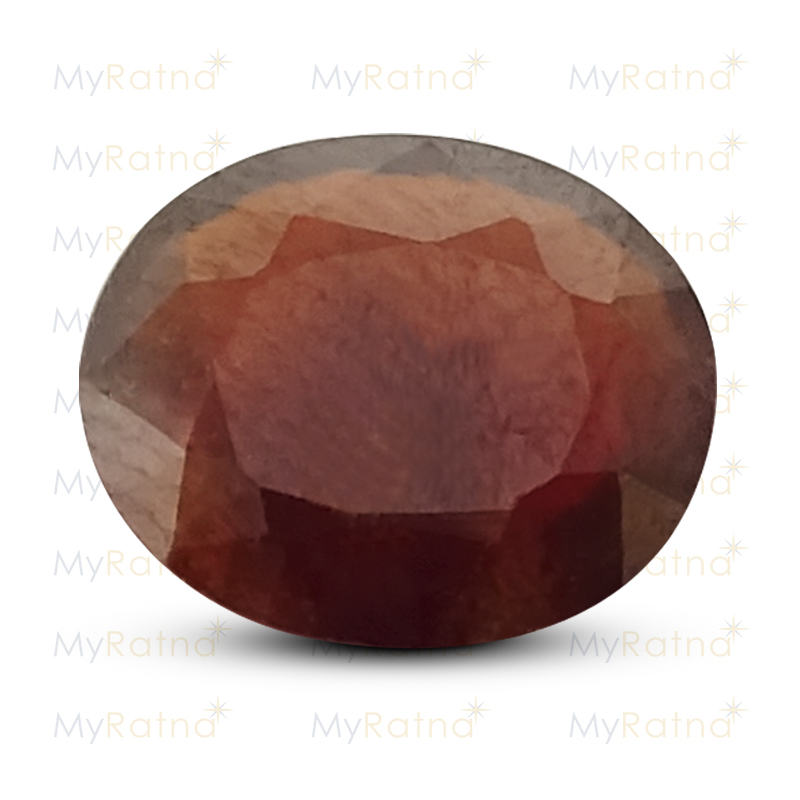 Certified Natural Hessonite Garnet 4.99 Ct (Africa) - Prime - MyRatna