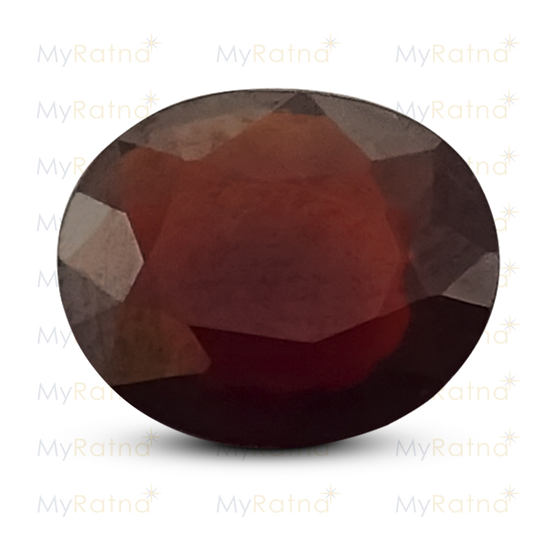 Certified Natural Hessonite Garnet 3.95 Ct (Africa) - Prime - MyRatna