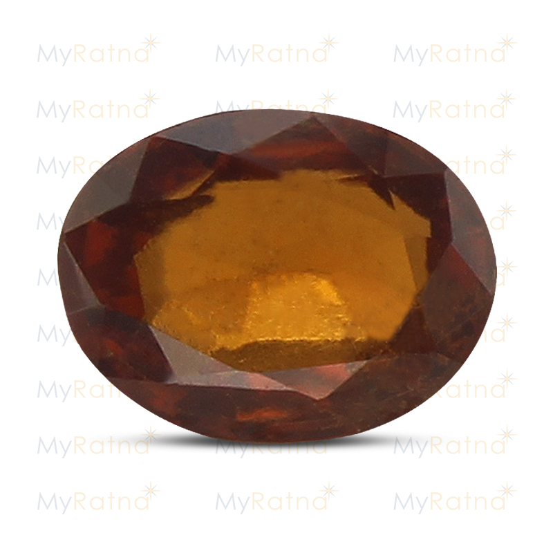 Certified Natural Hessonite Garnet 3.61 Ct (Africa) - Prime - MyRatna