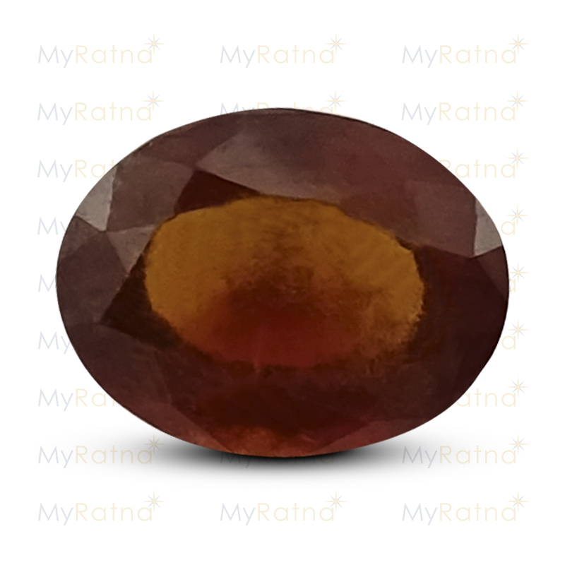 Certified Natural Hessonite Garnet 3.12 Ct (Africa) - Prime - MyRatna