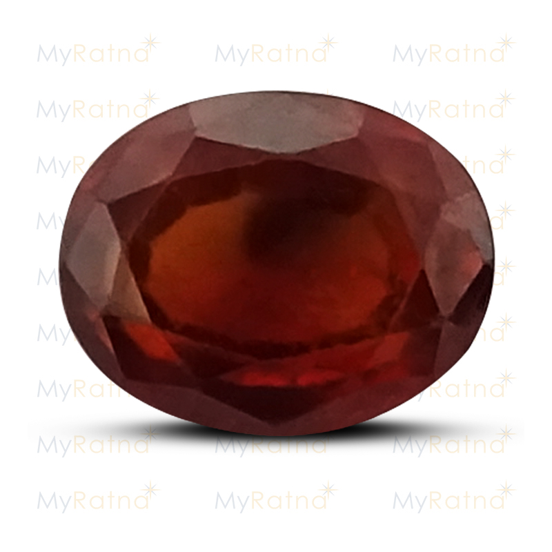 Certified Natural Hessonite Garnet 2.94 Ct (Africa) - Prime - MyRatna