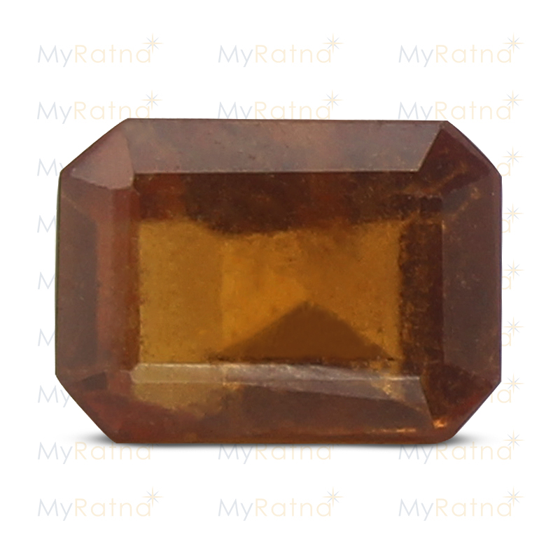 Certified Natural Hessonite Garnet 3.68 Ct (Africa) - Prime - MyRatna