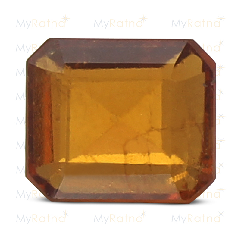 Certified Natural Hessonite Garnet 3.48 Ct (Ceylon) - Limited - MyRatna