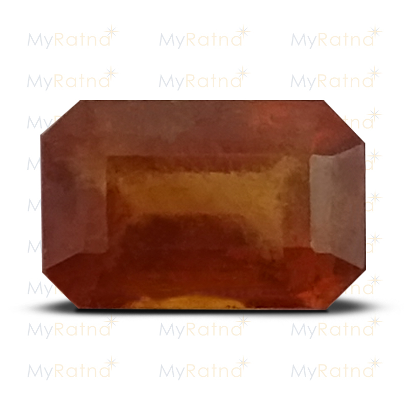 Certified Natural Hessonite Garnet 3.11 Ct (India) - Fine - MyRatna