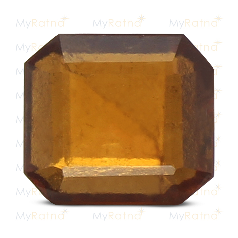 Certified Natural Hessonite Garnet 3.9 Ct (Africa) - Prime - MyRatna