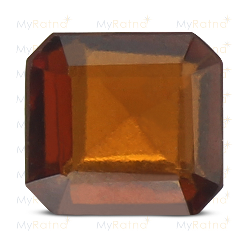 Certified Natural Hessonite Garnet 3.38 Ct (Africa) - Prime - MyRatna