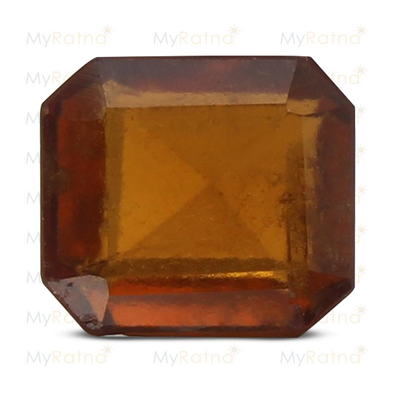 Certified Natural Hessonite Garnet 3.95 Ct (Africa) - Prime - MyRatna