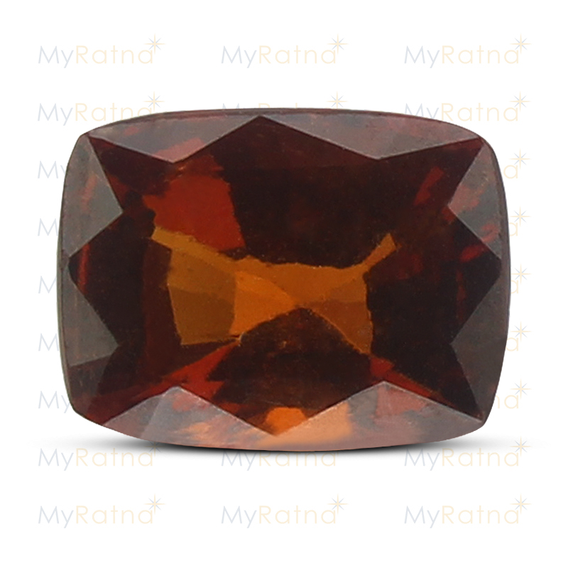 Certified Natural Hessonite Garnet 3.71 Ct (Africa) - Limited - MyRatna