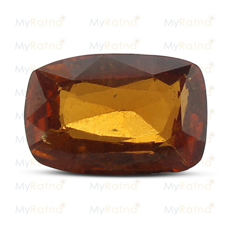 Certified Natural Hessonite Garnet 3.12 Ct (Ceylon) - Limited - MyRatna