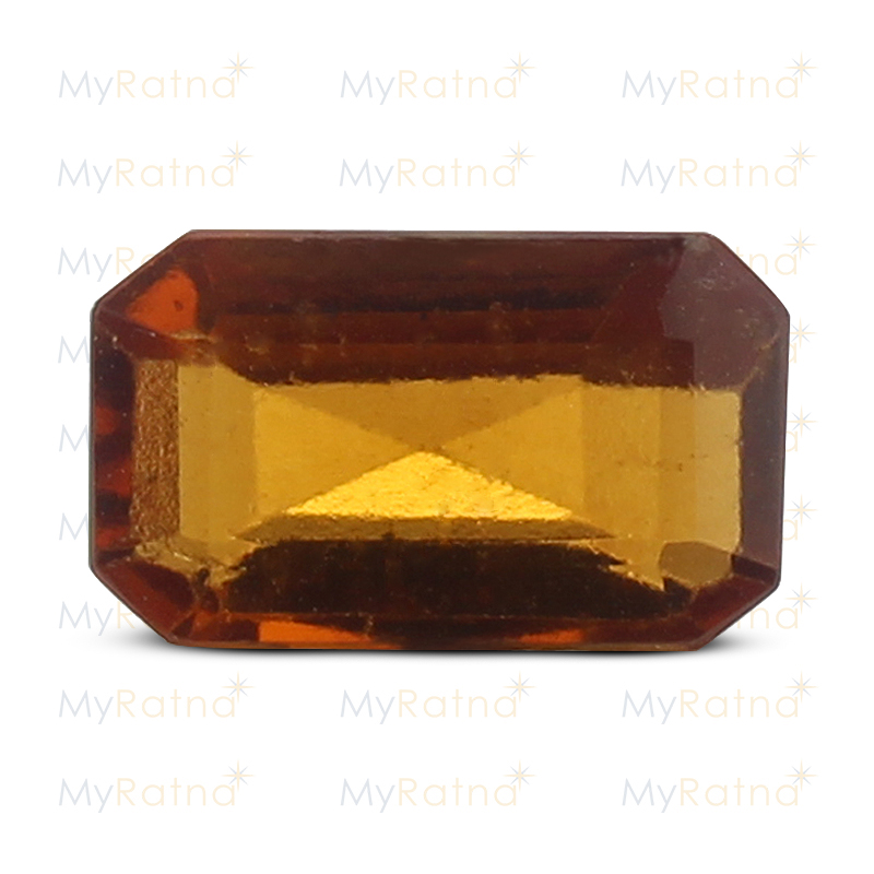 Certified Natural Hessonite Garnet 3.82 Ct (Africa) - Prime - MyRatna