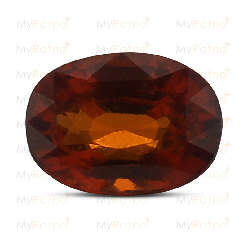 Certified Natural Hessonite Garnet 3.95 Ct (Ceylon) - Limited - MyRatna
