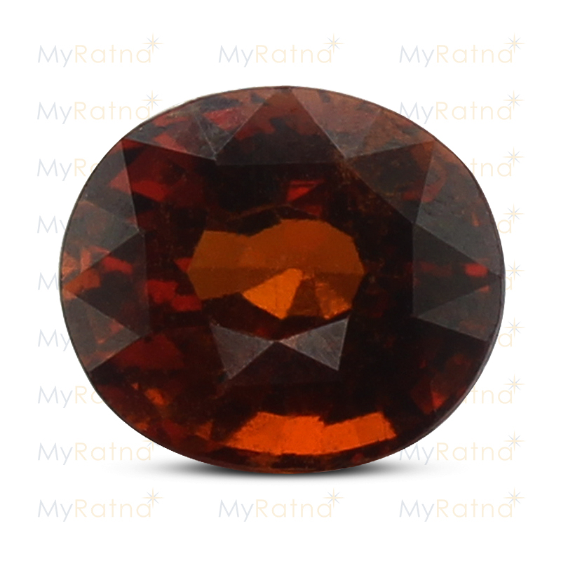 Certified Natural Hessonite Garnet 4.13 Ct (Ceylon) - Limited - MyRatna