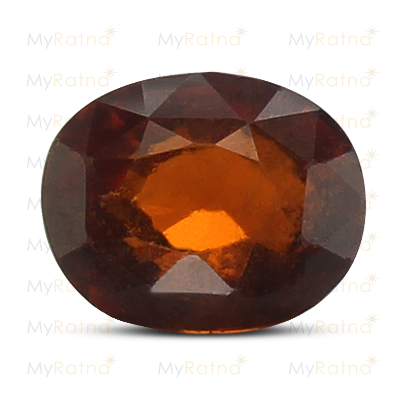 Certified Natural Hessonite Garnet 3.83 Ct (Ceylon) - Limited - MyRatna