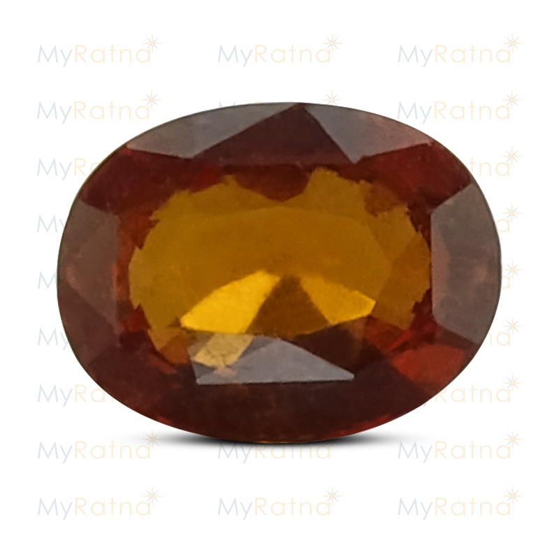 Certified Natural Hessonite Garnet 2.87 Ct (Africa) - Prime - MyRatna