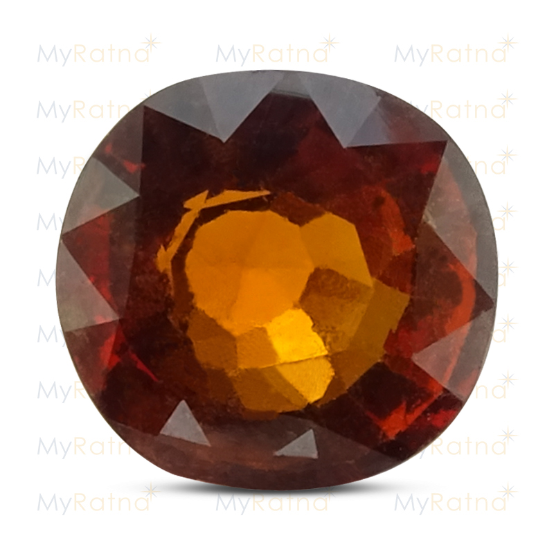 Certified Natural Hessonite Garnet 4.34 Ct (Ceylon) - Limited - MyRatna