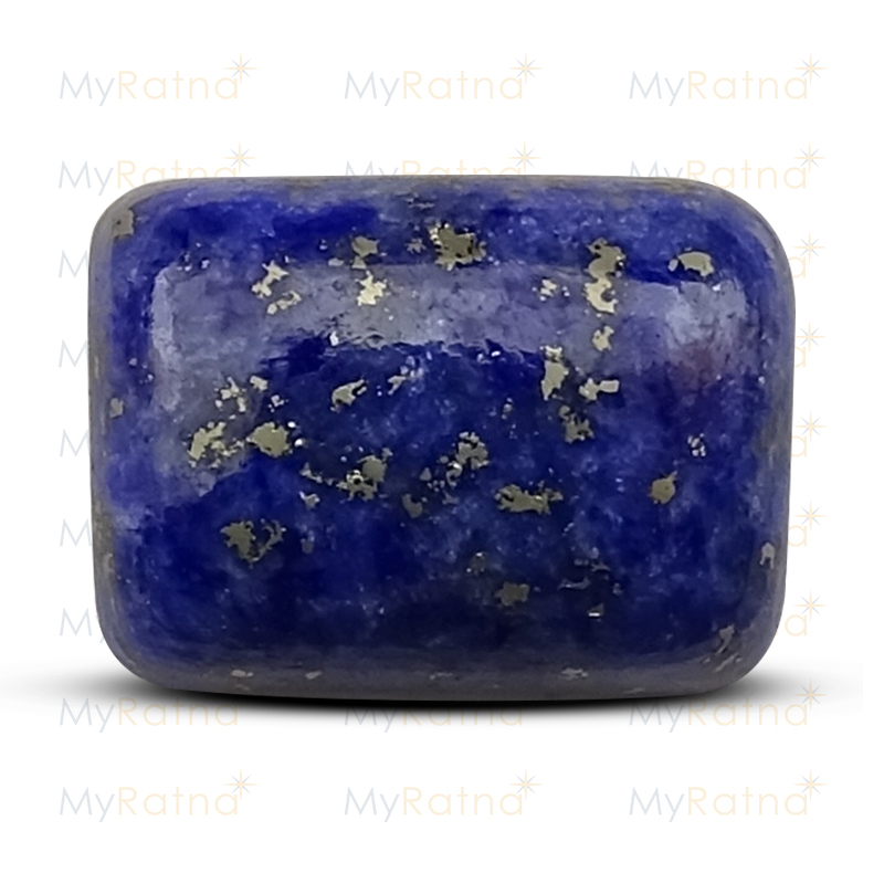 Certified Natural Lapis Lazuli 5.93 Ct - Limited - MyRatna