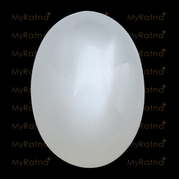 Certified Natural Moonstone Gemstone 5.68 Ct (India) - Prime - MyRatna