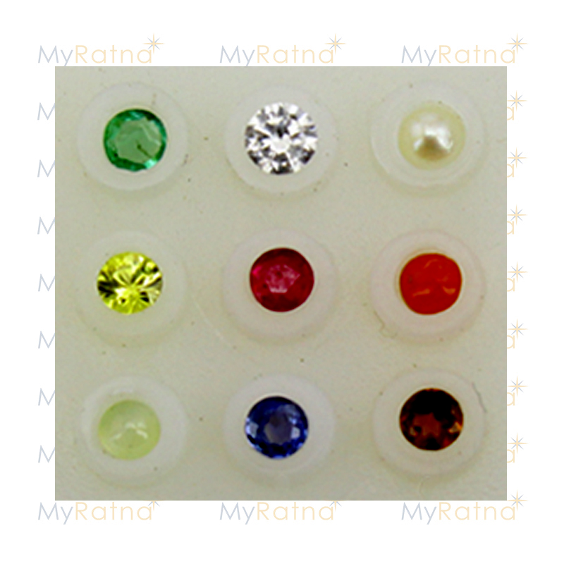 Certified Natural Navratna 2.25mm - Limited - MyRatna